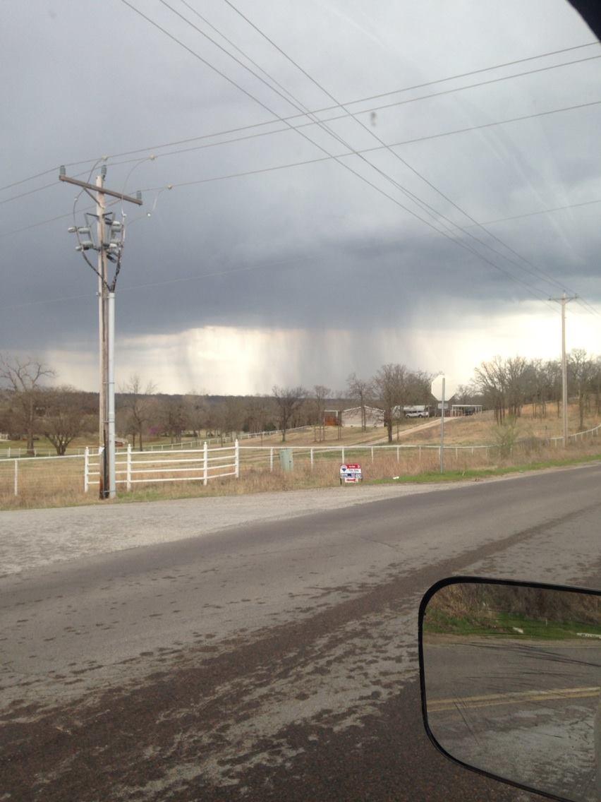 thunderstorm rain